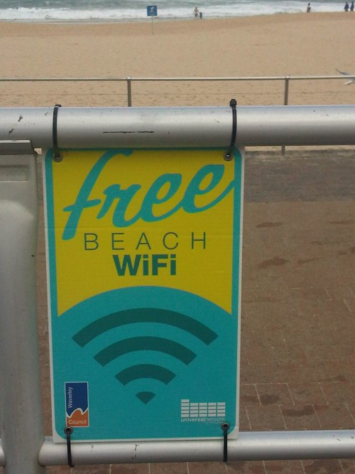 free wifi bondi beach