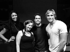 "Quadra Mitchell Schelenz Petzke at ""Skew"" screening at A Night of Horror International Film Festival 2011"