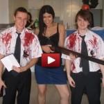 Luke Shailla and Oleg on Shrove Tuesday Film Still
