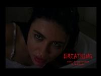 shailla quadra leading actress in breathing film still promo poster