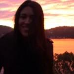 beautiful sunset and shailla