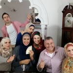 "Behind the scenes photo - Shailla & ""My Name is Faten"" Cast!"